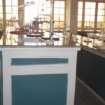 Science laboratory at CMS Grammar School, Lagos